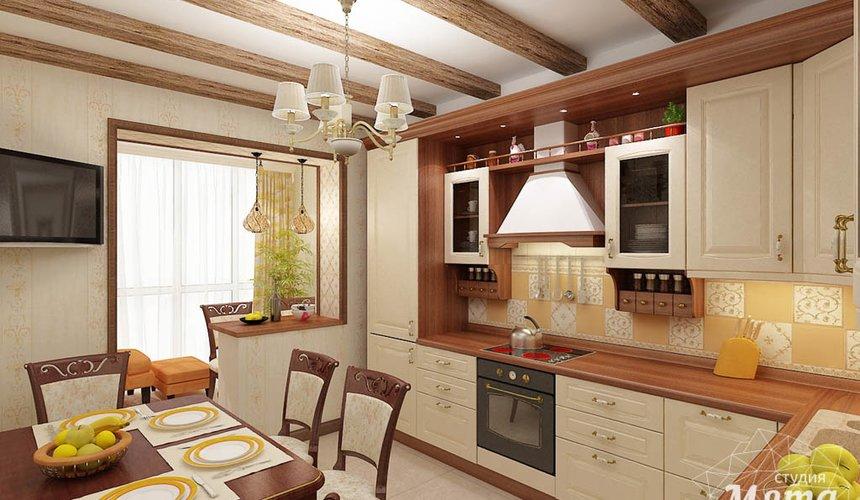 Дизайн интерьера и ремонт трехкомнатной квартиры по ул. Авиационная, 16  65