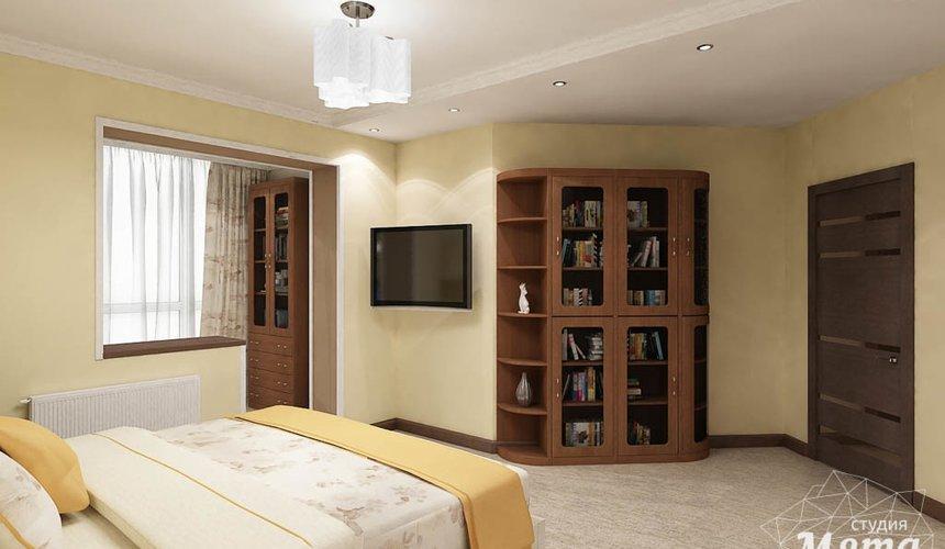 Дизайн интерьера и ремонт трехкомнатной квартиры по ул. Авиационная, 16  88