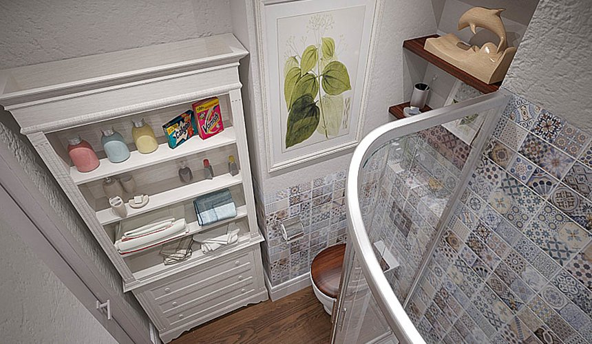 Дизайн интерьера и ремонт трехкомнатной квартиры по ул. Татищева 49 47