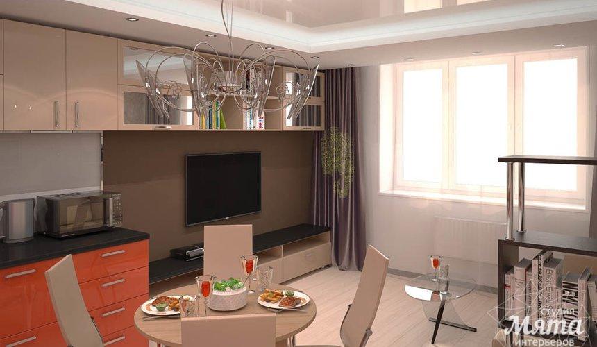 Дизайн интерьера однокомнатной квартиры по ул. Электриков 5 5