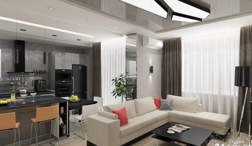 Дизайн интерьера двухкомнатной квартиры в ЖК Крылов 3