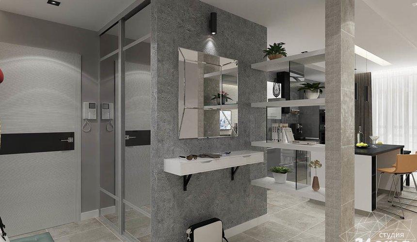 Дизайн интерьера двухкомнатной квартиры в ЖК Крылов 10