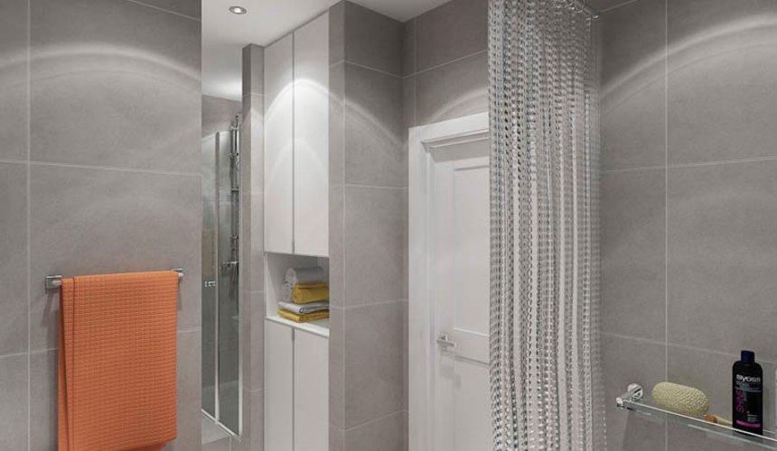 Дизайн интерьера двухкомнатной квартиры в ЖК Крылов 20
