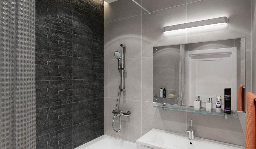 Дизайн интерьера двухкомнатной квартиры в ЖК Крылов 21