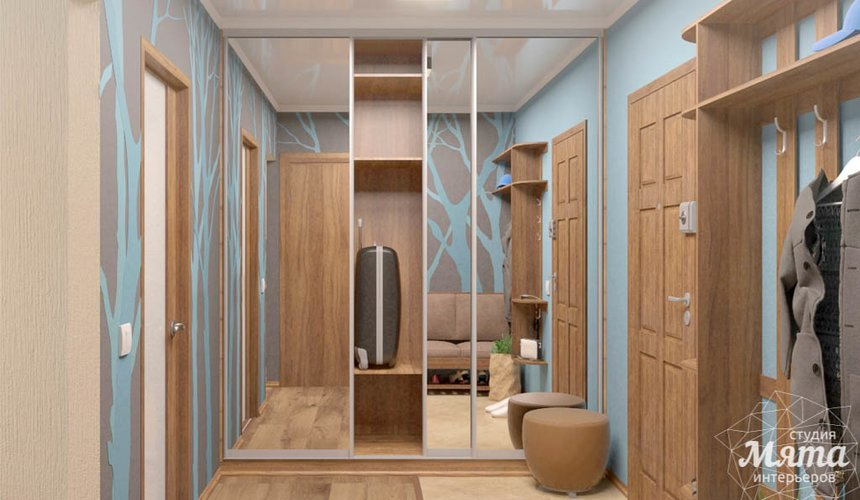 Дизайн интерьера однокомнатной квартиры по ул. Соболева 19 14