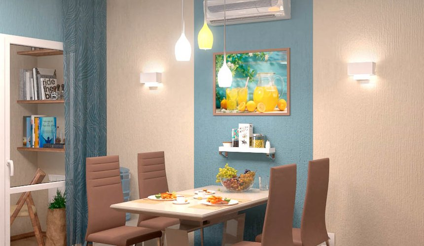 Дизайн интерьера однокомнатной квартиры по ул. Соболева 19 10