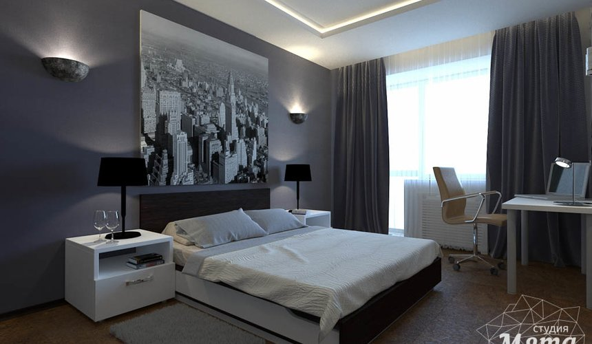 Дизайн интерьера однокомнатной квартиры по ул. 40 лет Октября 11 3