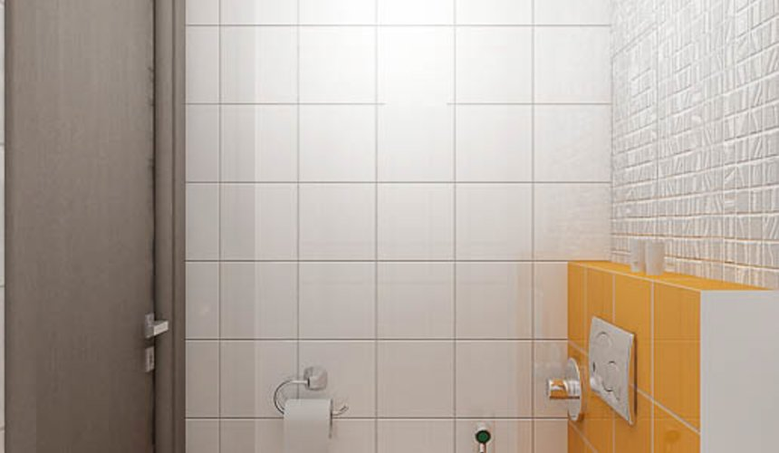 Дизайн интерьера и ремонт ванной комнаты и прихожей по ул. Крауля 70 14