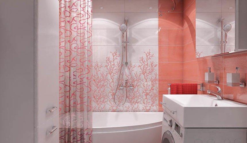 Дизайн интерьера ванной комнаты по ул. Калинина 77 4