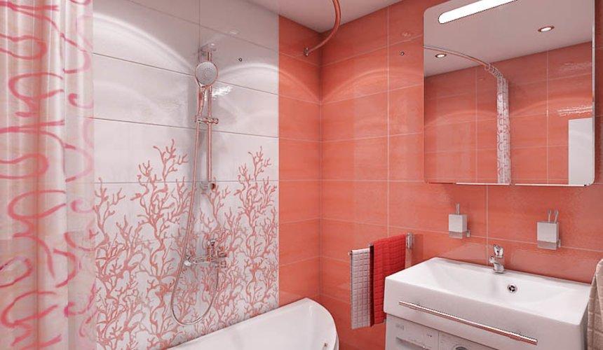 Дизайн интерьера ванной комнаты по ул. Калинина 77 6