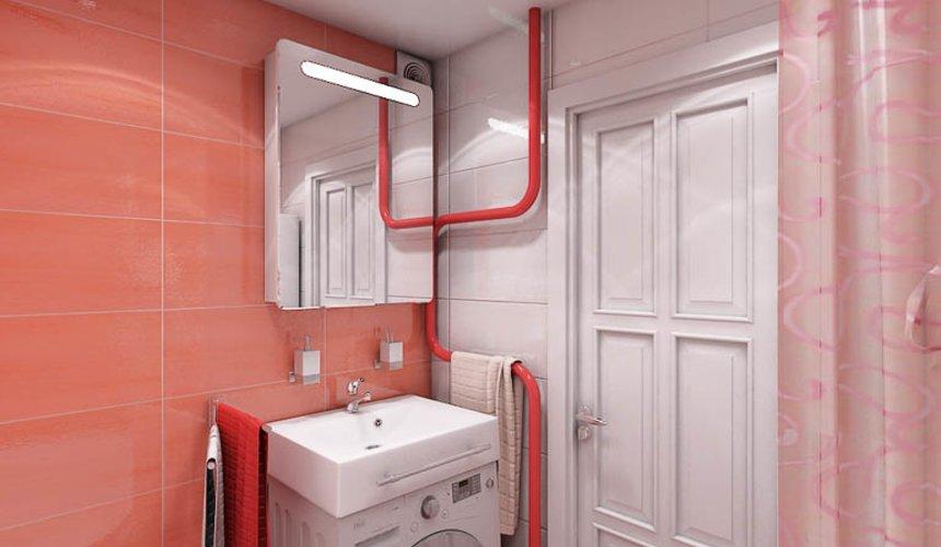 Дизайн интерьера ванной комнаты по ул. Калинина 77 7