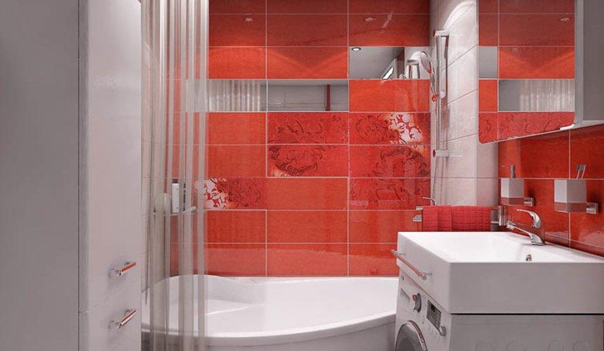 Дизайн интерьера ванной комнаты по ул. Калинина 77 8