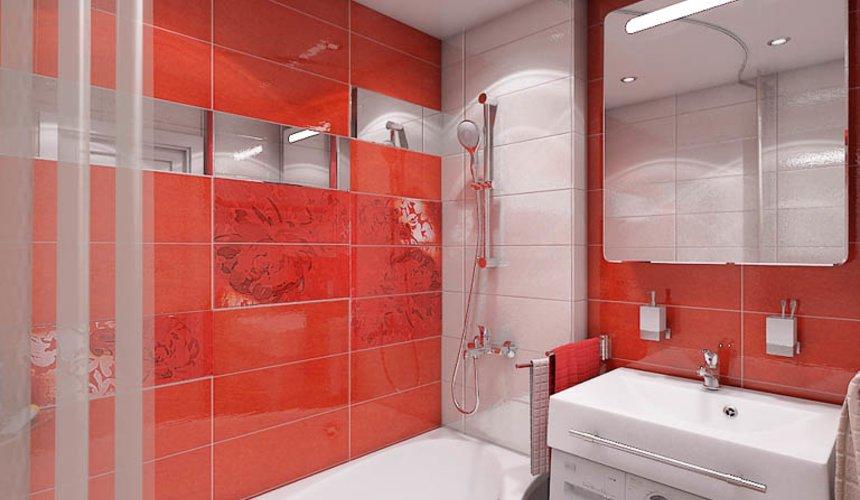 Дизайн интерьера ванной комнаты по ул. Калинина 77 9
