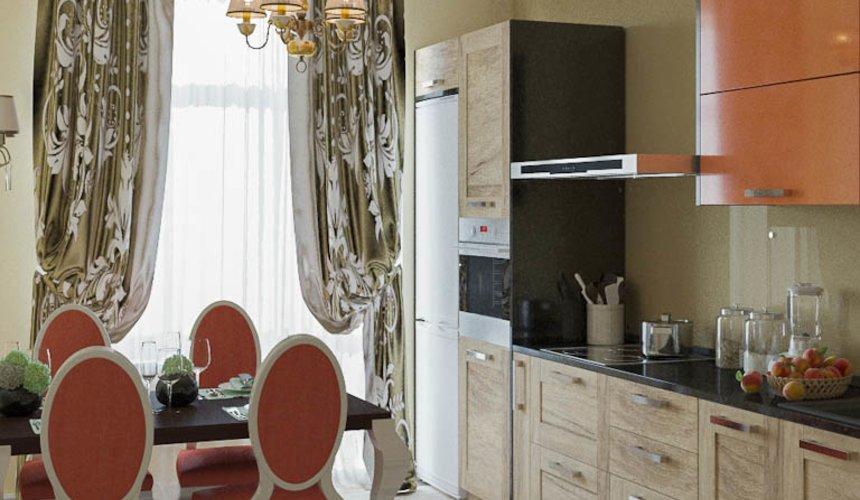 Дизайн интерьера и ремонт трехкомнатной квартиры в Карасьозерском 2 44