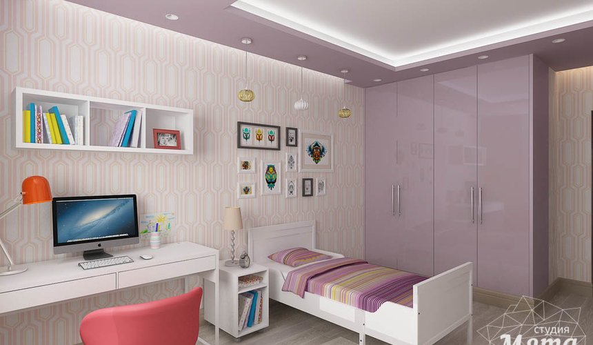 Дизайн интерьера и ремонт четырехкомнатной квартиры по ул. Союзная 2 46