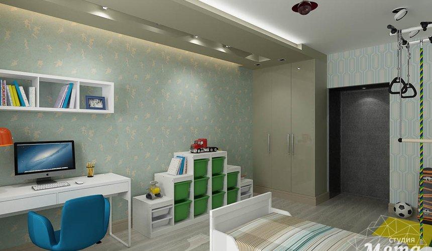 Дизайн интерьера и ремонт четырехкомнатной квартиры по ул. Союзная 2 56