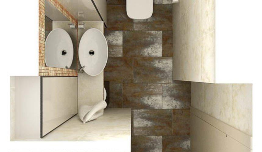 Дизайн интерьера и ремонт четырехкомнатной квартиры по ул. Союзная 2 64