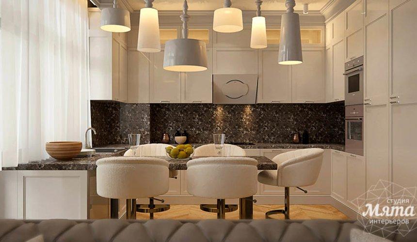 Дизайн интерьера четырехкомнатной квартиры в Новосибирске 4