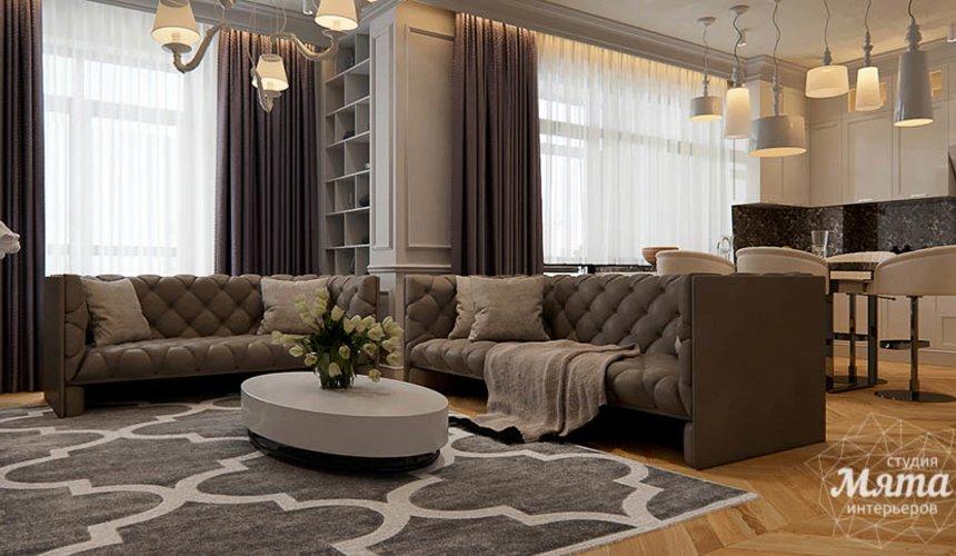 Дизайн интерьера четырехкомнатной квартиры в Новосибирске 6