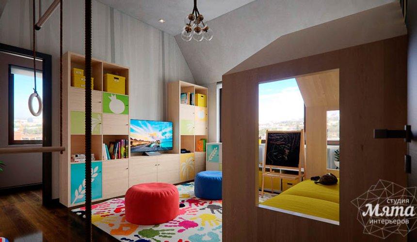Дизайн интерьера детской в стиле лофт в Краснодаре 10