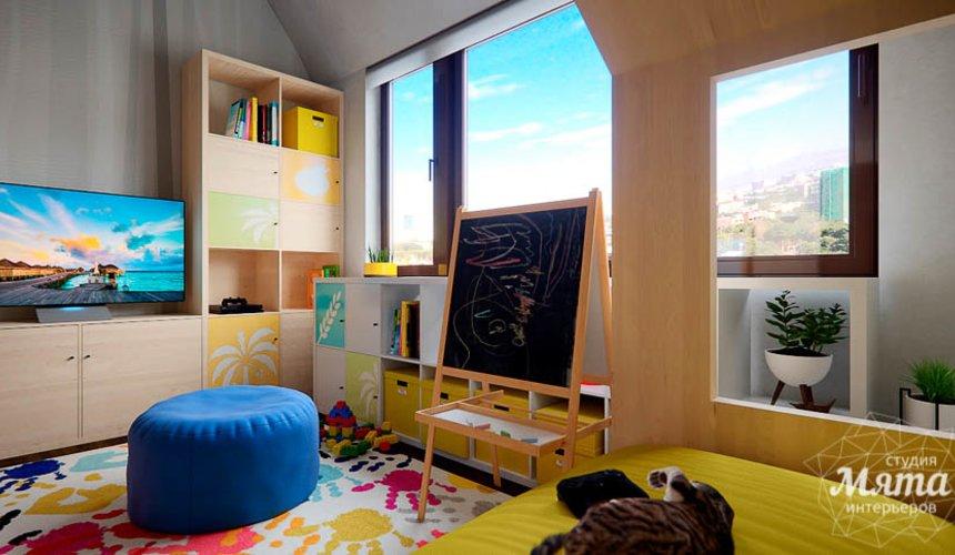 Дизайн интерьера детской в стиле лофт в Краснодаре 13