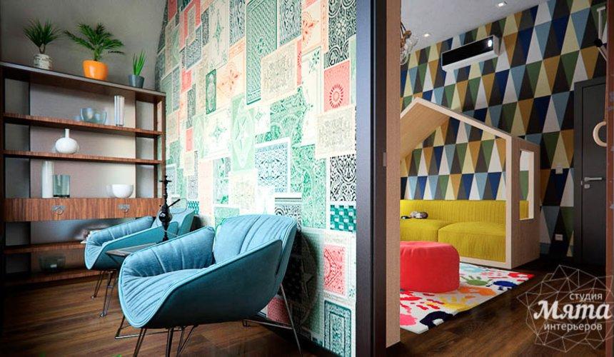 Дизайн интерьера детской в стиле лофт в Краснодаре 15