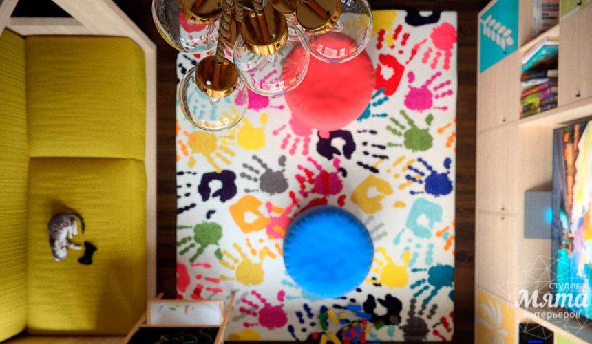 Дизайн интерьера детской в стиле лофт в Краснодаре 16