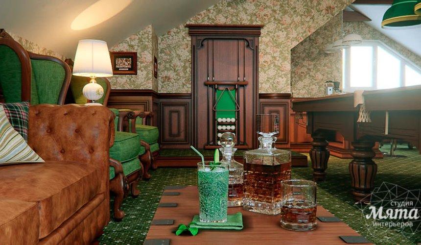 Дизайн интерьера бильярдной в п. Палникс 5