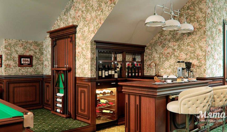 Дизайн интерьера бильярдной в п. Палникс 10