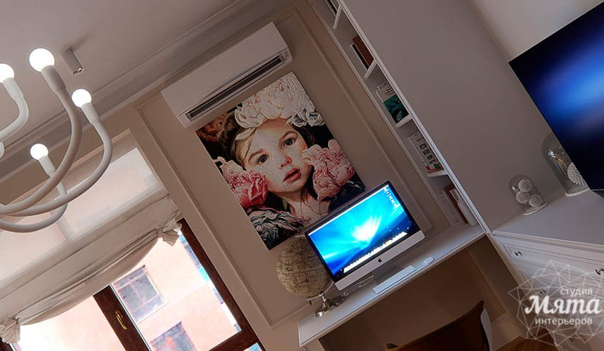 Дизайн интерьера четырехкомнатной квартиры в Новосибирске 29