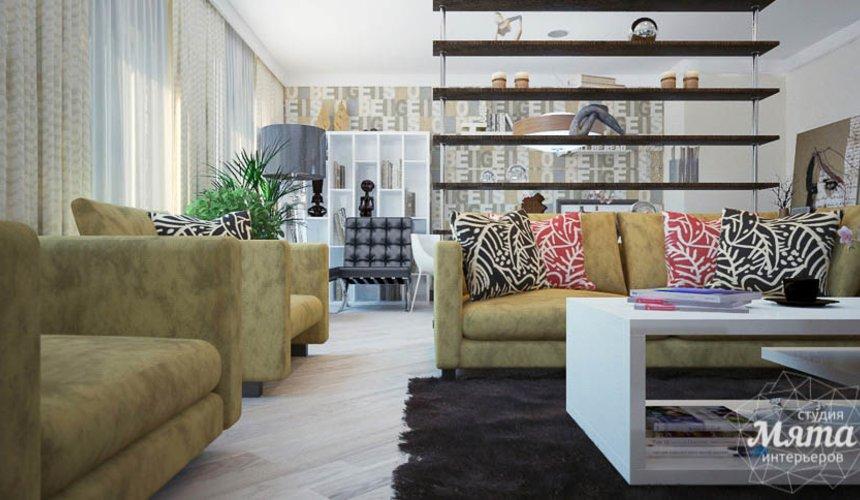 Дизайн интерьера трехкомнатной квартиры Шейнкмана 121 7