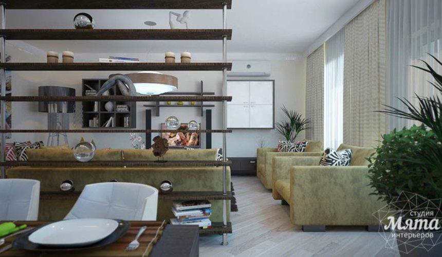 Дизайн интерьера трехкомнатной квартиры Шейнкмана 121 8