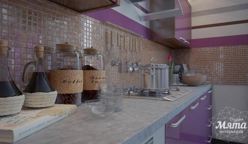 Дизайн интерьера трехкомнатной квартиры Шейнкмана 121 12
