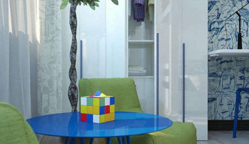 Дизайн интерьера трехкомнатной квартиры Шейнкмана 121 33