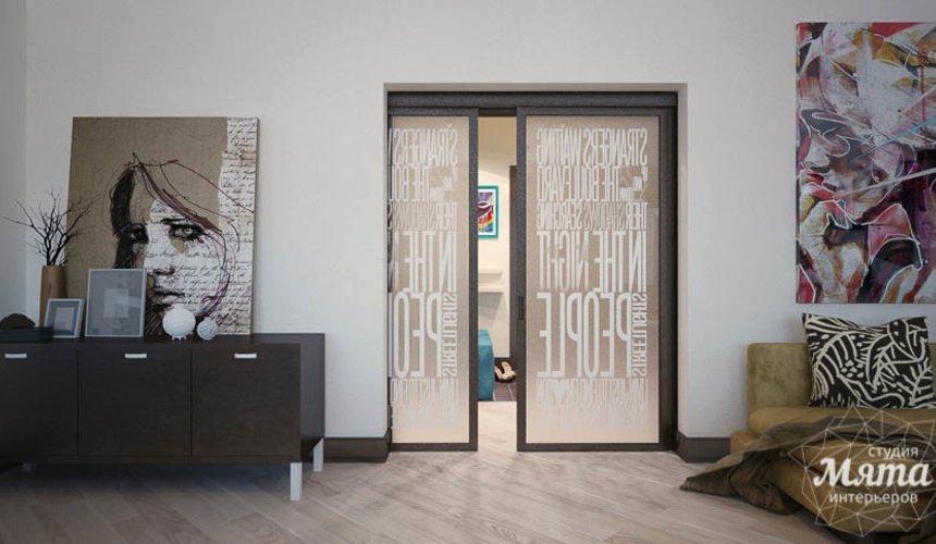 Дизайн интерьера трехкомнатной квартиры Шейнкмана 121 35