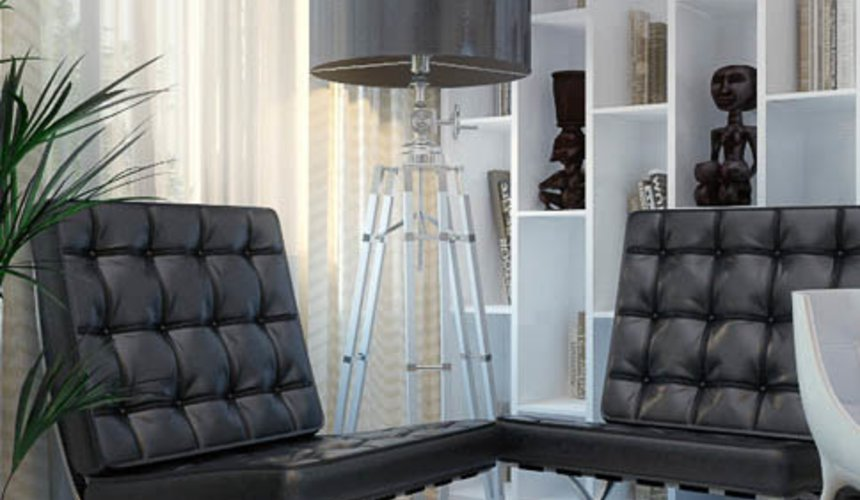 Дизайн интерьера трехкомнатной квартиры Шейнкмана 121 38