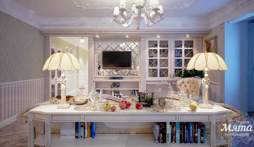 Дизайн интерьера четырехкомнатной квартиры в Тюмени 25