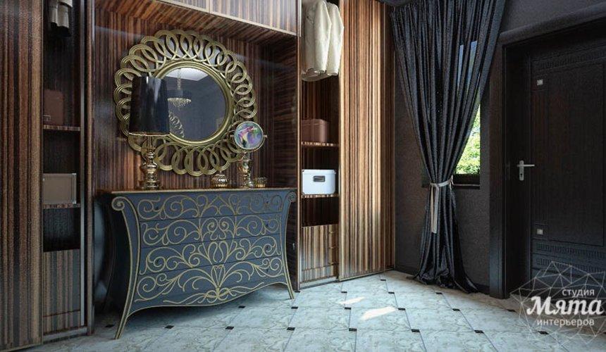 Дизайн интерьера коттеджа в Новосибирске  4