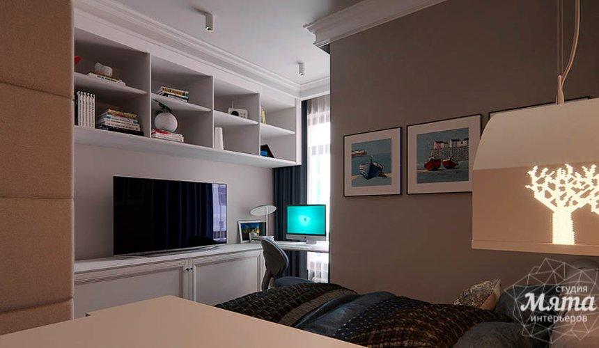 Дизайн интерьера четырехкомнатной квартиры в Новосибирске 37