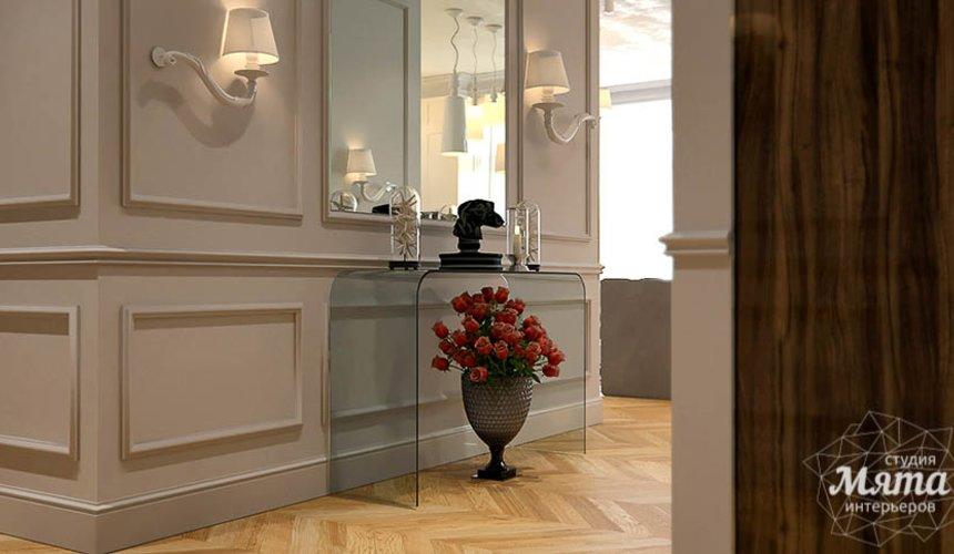 Дизайн интерьера четырехкомнатной квартиры в Новосибирске 16