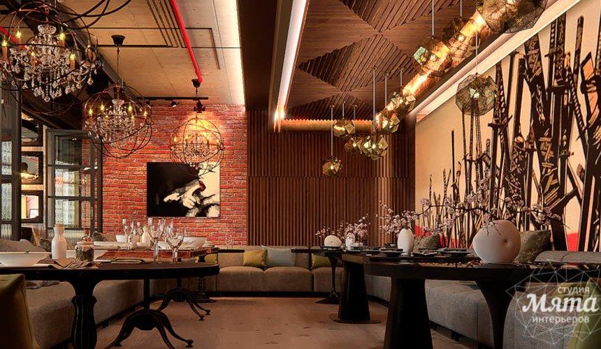 Дизайн интерьера кафе в Сочи  6