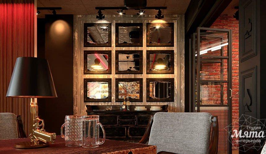 Дизайн интерьера кафе в Сочи  11