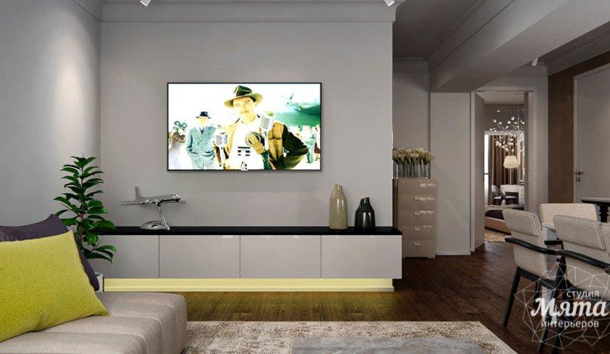 Дизайн интерьера двухкомнатной квартиры в Москве 3