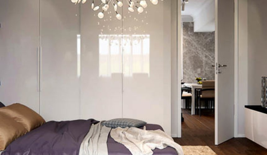 Дизайн интерьера двухкомнатной квартиры в Москве 9