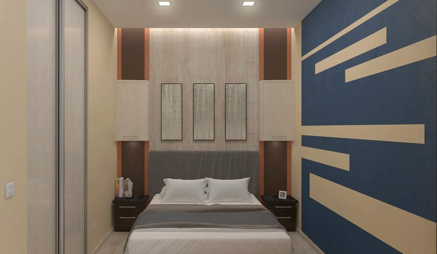 Дизайн интерьера однокомнатной квартиры в ЖК Крылов 12