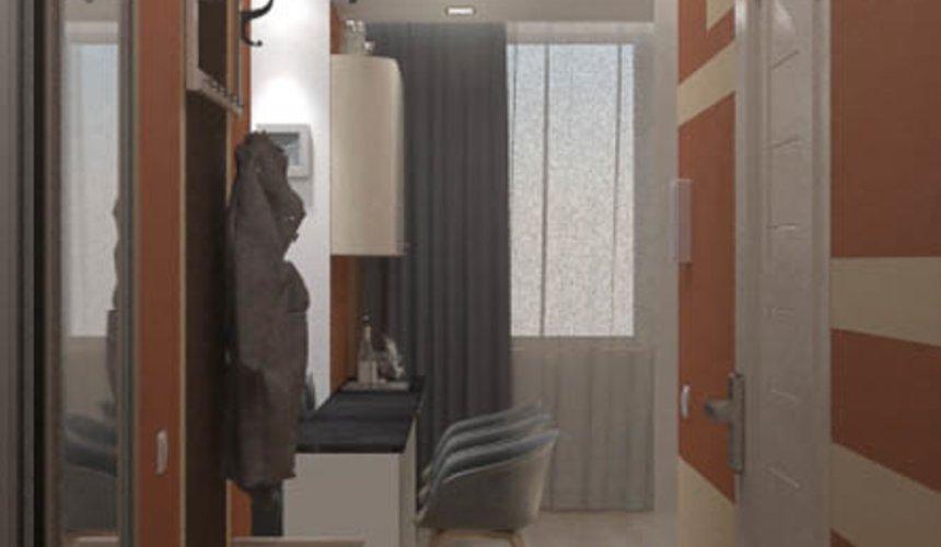 Дизайн интерьера однокомнатной квартиры в ЖК Крылов 14