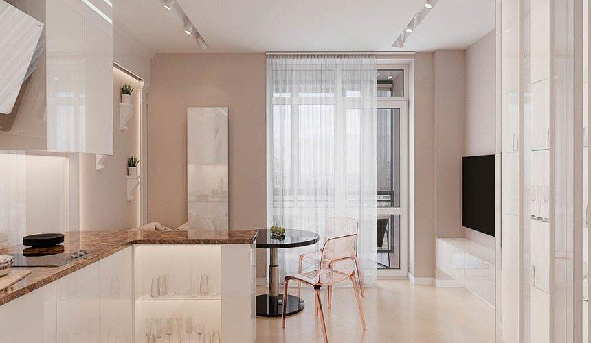 Дизайн интерьера однокомнатной квартиры в ЖК Крылов (1 очередь) 2