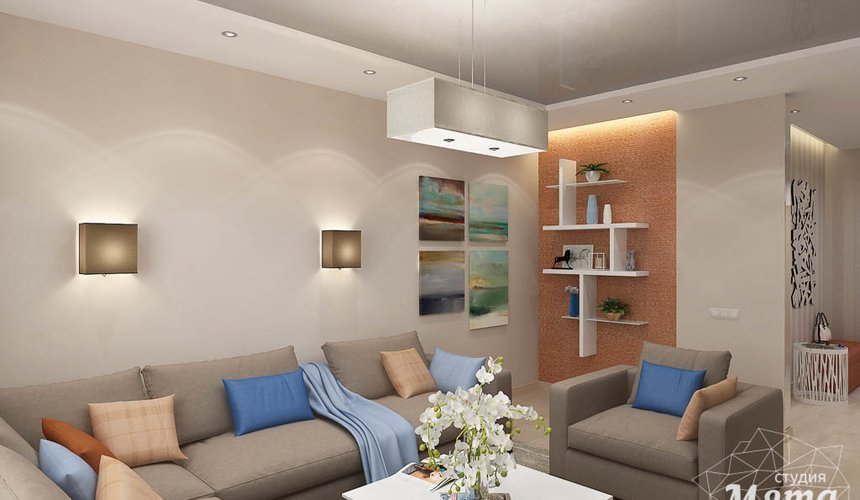 Дизайн интерьера трехкомнатной квартиры по ул. Куйбышева 21 7
