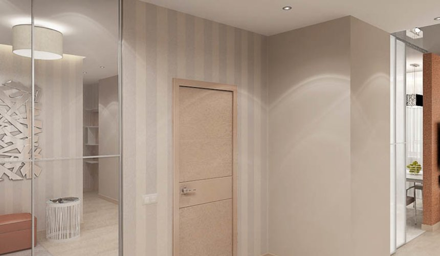 Дизайн интерьера трехкомнатной квартиры по ул. Куйбышева 21 19