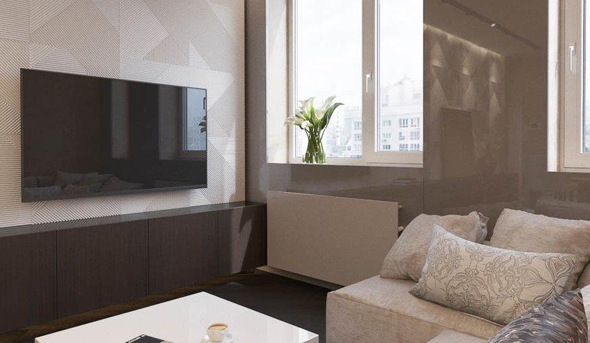 Дизайн интерьера однокомнатной квартиры в ЖК Крылов (2 очередь) 2